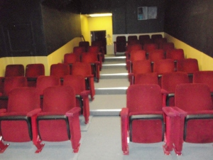 red new theater seats