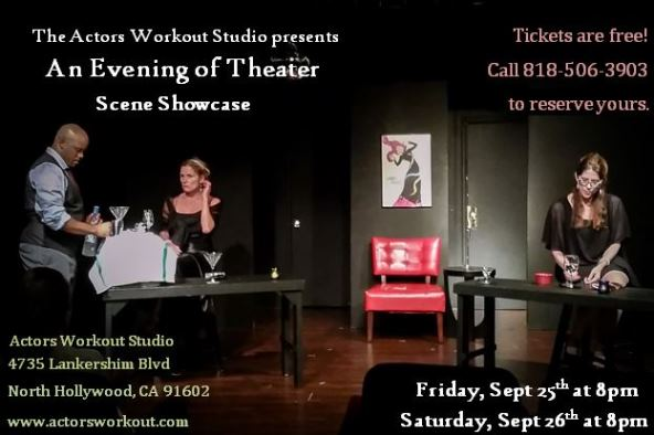small aws scene showcase flyer